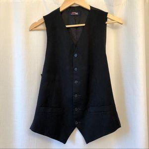 Stafford Super Suit Black Vest